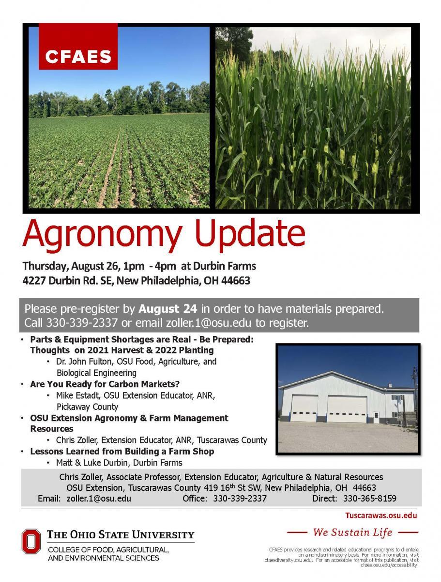 agronomy flyer