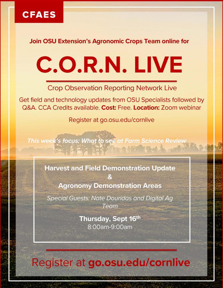 C.O.R.N. LIVE - 9/16/21