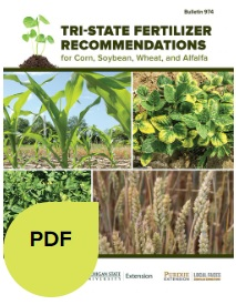 The Tri-State Fertilizer Recommendations guide is available as a pdf or booklet.
