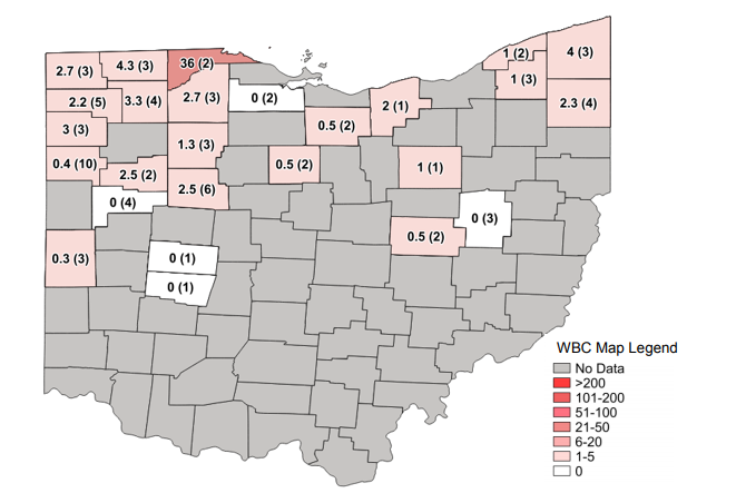 Western Bean Cutworm Moth Counts