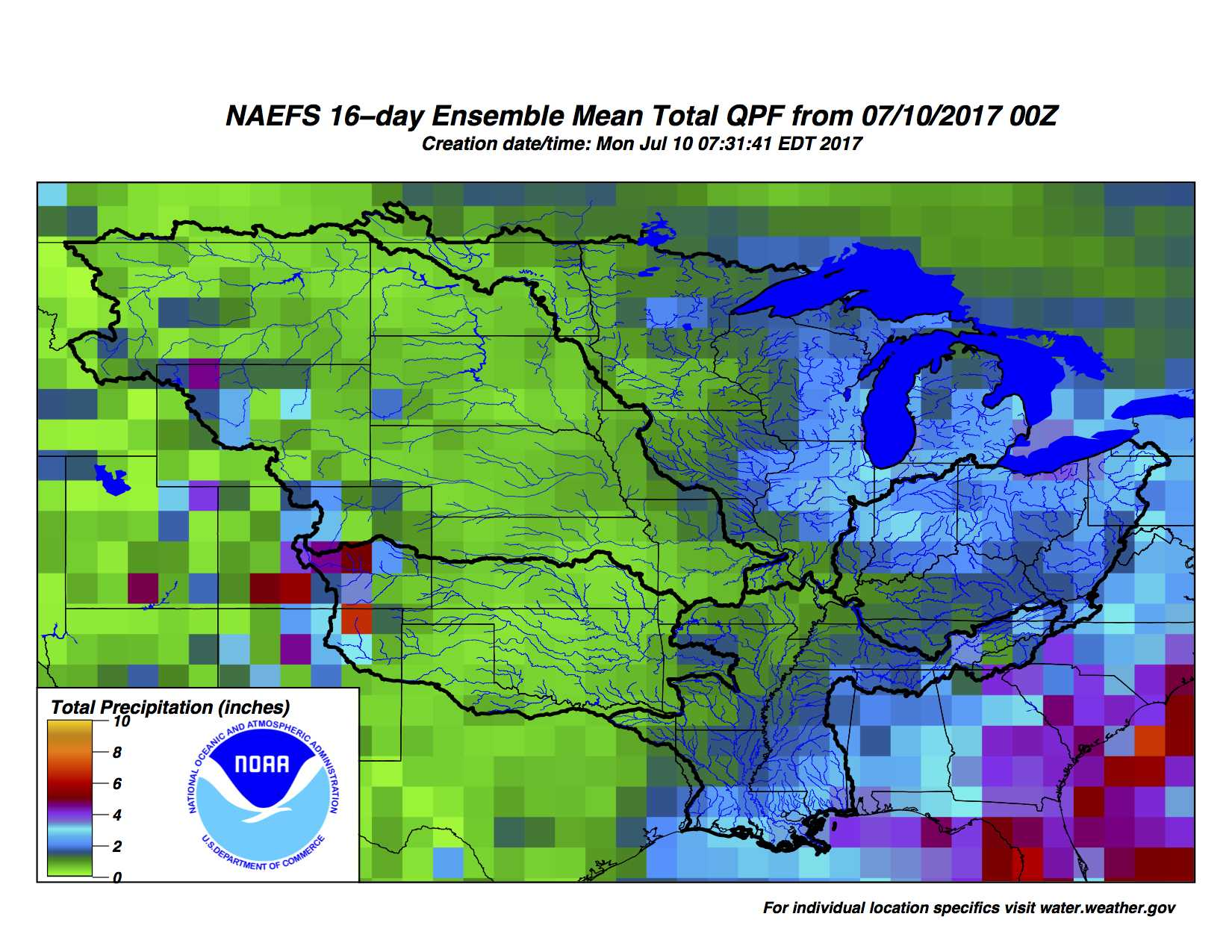 Up To Date Weather Map.Weather Forecast Agronomic Crops Network