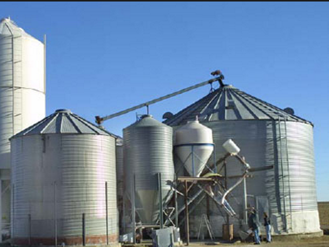Do you operate an on-farm grain storage and handling system
