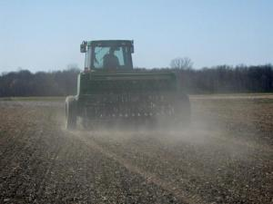Seeding forages