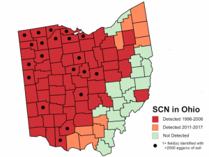 Historical Soybean Cyst Nematode Map