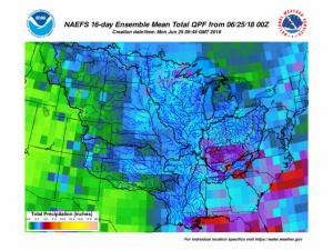Weather Map Week of June 24