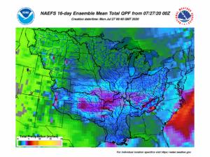 16-day Mean Precipitation