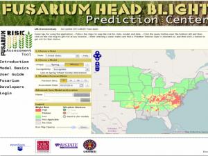 fusarium head blight prediction center