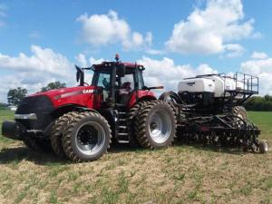 Fall Nutrient Applicator and Tractor