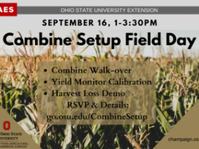 Combine Set-up Field Day