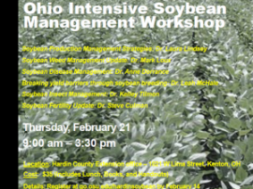 Ohio Intensive Soybean Management Workshop - Hardin County