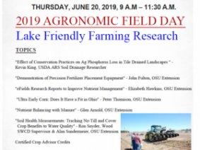 Agronomic Field Day June 20