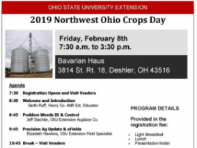 Northwest Ohio Crops Day A Great Opportunity for NW OH