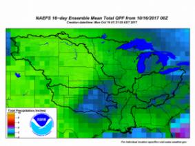 Good harvest weather this week with worsening harvest weather next week