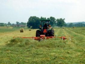 Speeding Up Hay Drying