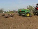 Seeding alfalfa