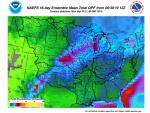 16 - Day Moisture Forecast