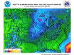 16-day Precipitation Map beginning 9/15/19