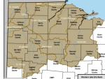 Western Lake Erie Basin HUC 8 Watersheds in Ohio